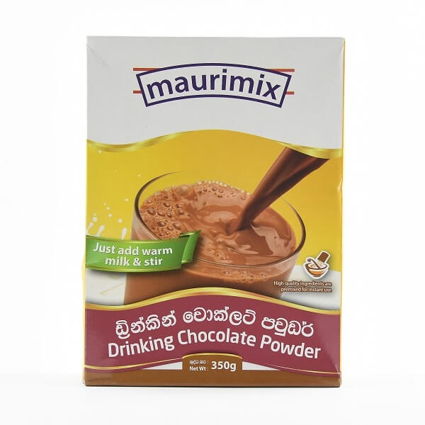 Maurimix Drinking Chocolate Powder 350g - MAURIMIX - Chocolate & Malt Drinks - in Sri Lanka