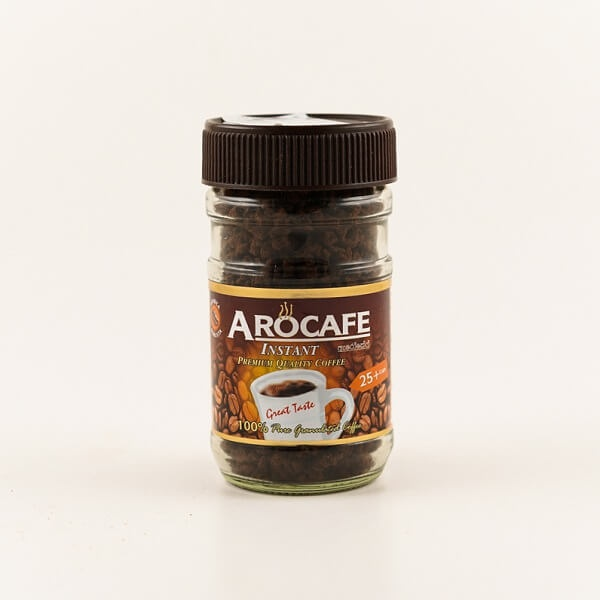 Arocafe Coffee Glass Jar 50G - in Sri Lanka