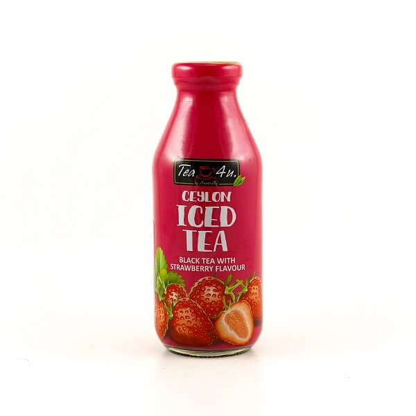 Tea 4u Iced Tea Strawberry Black 350ml - TEA 4U - Tea - in Sri Lanka