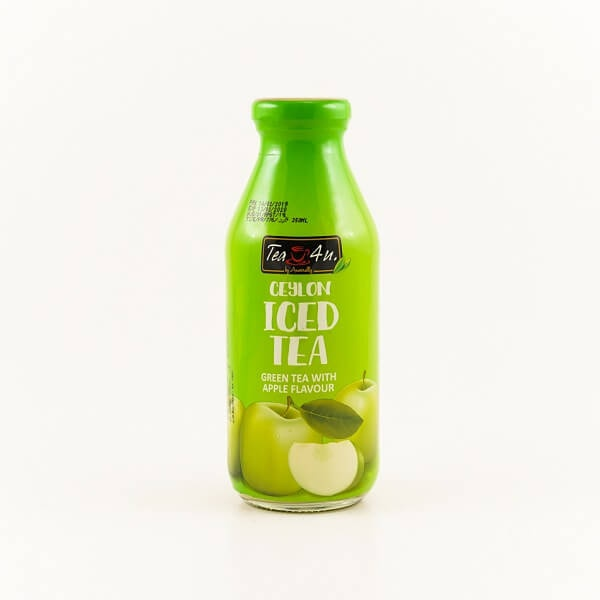 Tea 4U Iced Tea Green Apple 350Ml - in Sri Lanka