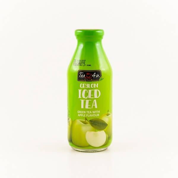 Tea 4U Iced Tea Green Apple 350Ml - in Sri Lanka