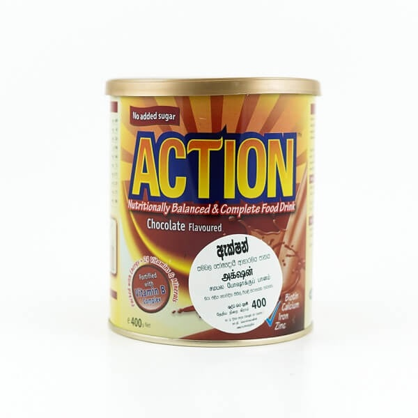 Action Milk Powder Chocolate 400G - in Sri Lanka