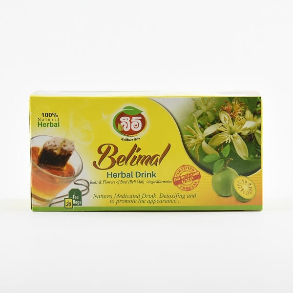 Beam Tea Bag Belimal 40G - in Sri Lanka