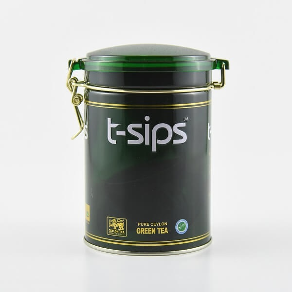 T-Sips Tea Green Tea Jar 200G - in Sri Lanka