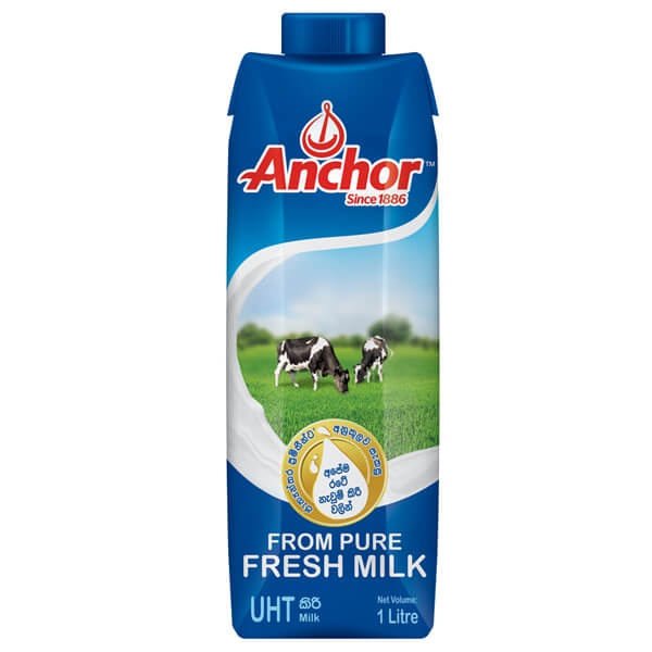 Anchor Milk Uht Tetra 1l - in Sri Lanka