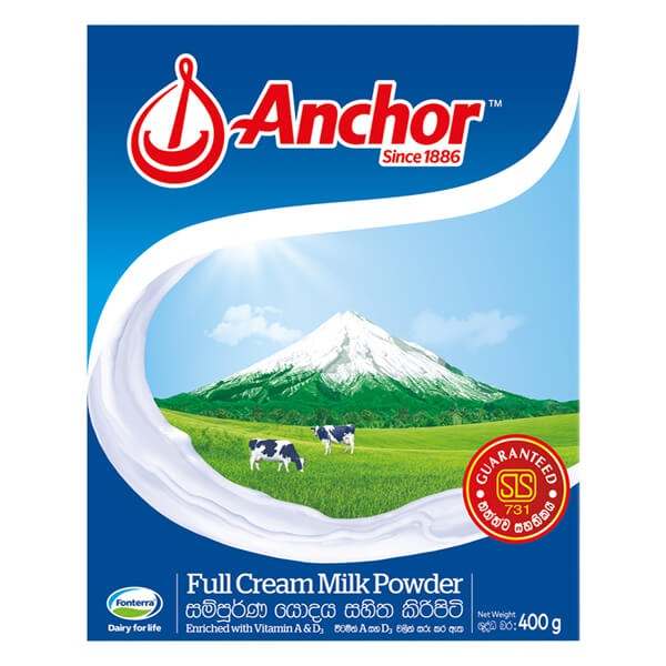 Anchor Milk Powder Bib 400G - in Sri Lanka