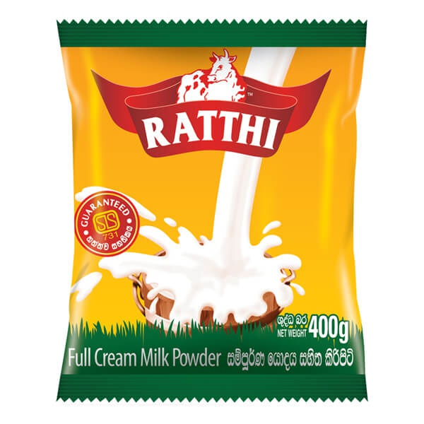 Ratthi Milk Powder Smart Packet 400g - in Sri Lanka