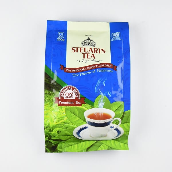 Steuarts Premium Bopf Tea 200g - in Sri Lanka