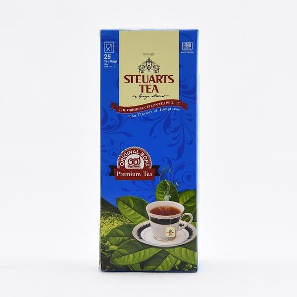 Steuarts Tea Premium Bopf 25s 50g - in Sri Lanka