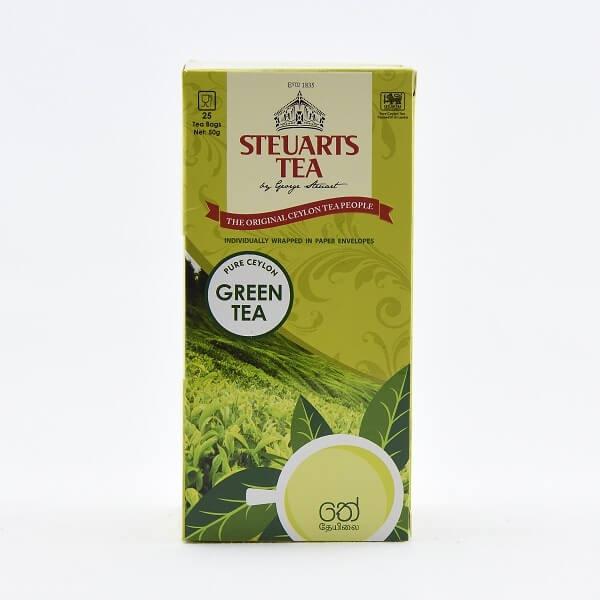 Steuarts Green Tea Bag 25'S X 50G - in Sri Lanka
