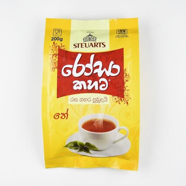Steuarts Tea Rosa Kahata 200g - in Sri Lanka