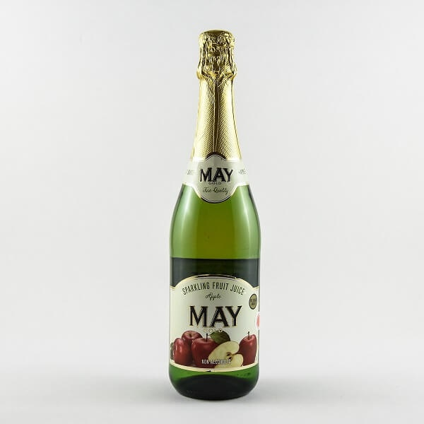 May Non Alchoholic Sparkling Wine Apple 750ml - in Sri Lanka