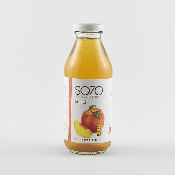 Sozo Iced Tea Peach 370Ml - in Sri Lanka