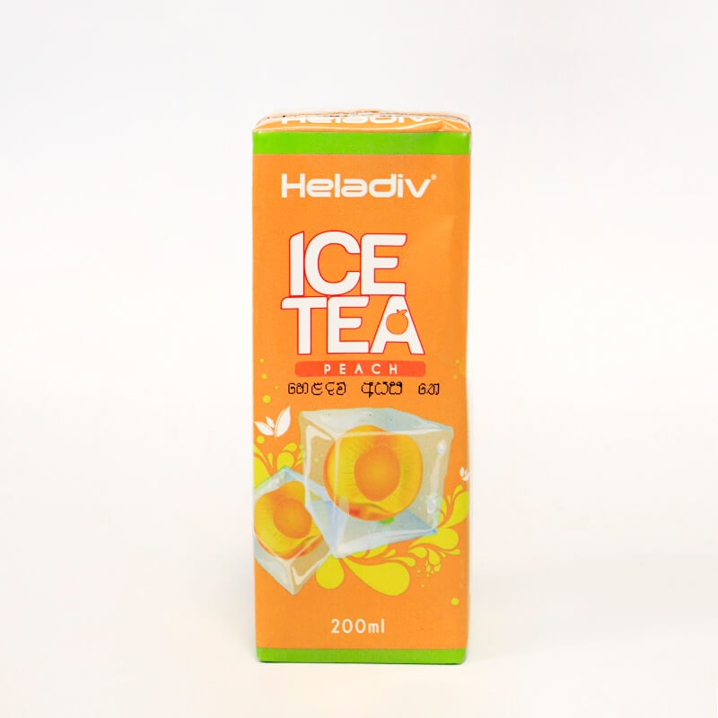 Heladiv Iced Tea Peach Tp 200Ml - in Sri Lanka