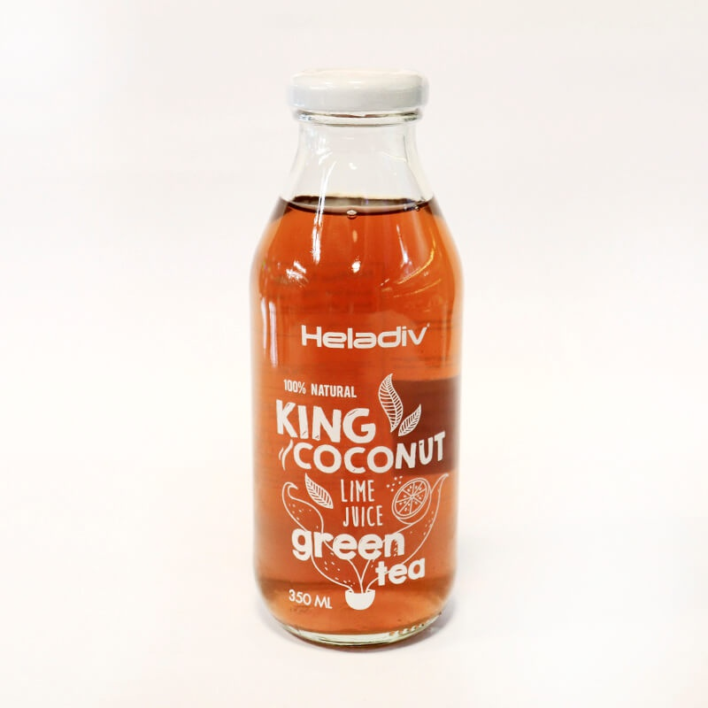Heladiv King Coconut With Green Tea 350ml - in Sri Lanka