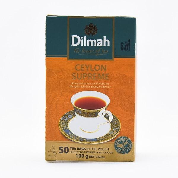 Dilmah Tea Ceylon Supreme 50s 100g - in Sri Lanka