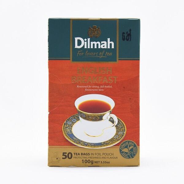 Dilmah Tea English Breakfast Bag 50s 100g - in Sri Lanka
