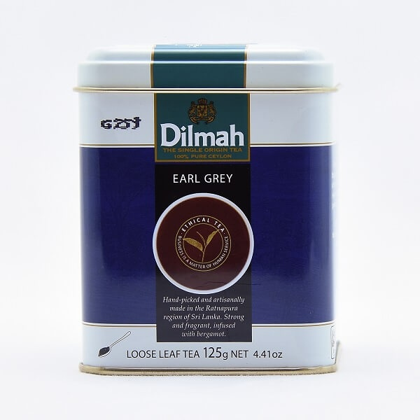 Dilmah Tea Earl Grey 125G - in Sri Lanka