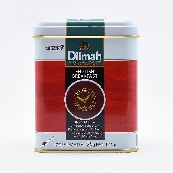 Dilmah Tea English Breakfast 125G - in Sri Lanka