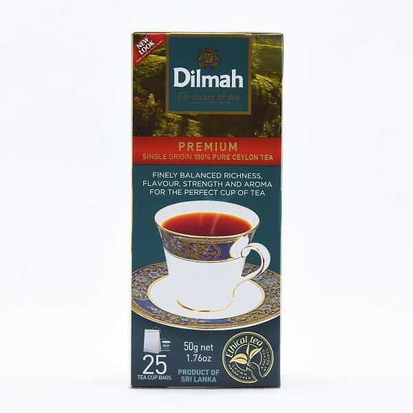 Dilmah Tea Premium 25 Bags 50G - in Sri Lanka