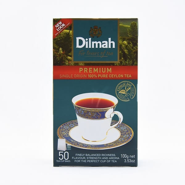 Dilmah Tea Bags 50S 100G - in Sri Lanka