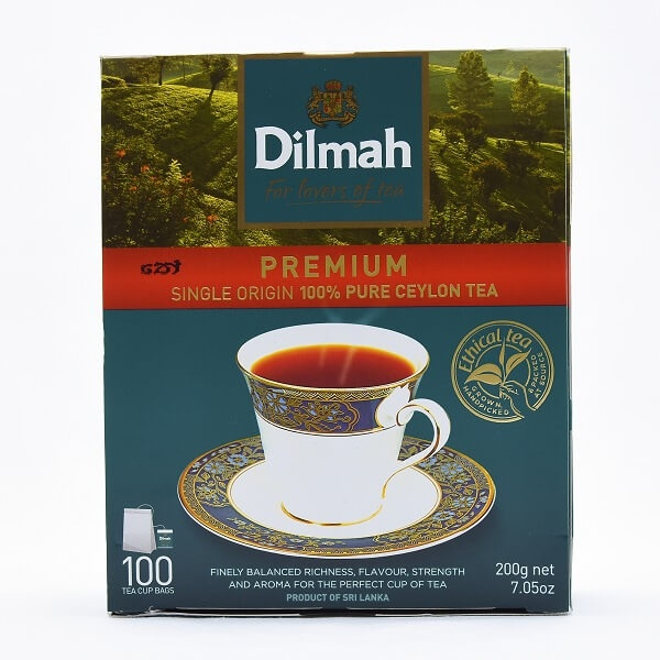 Dilmah Tea Bags 100S 200G - in Sri Lanka