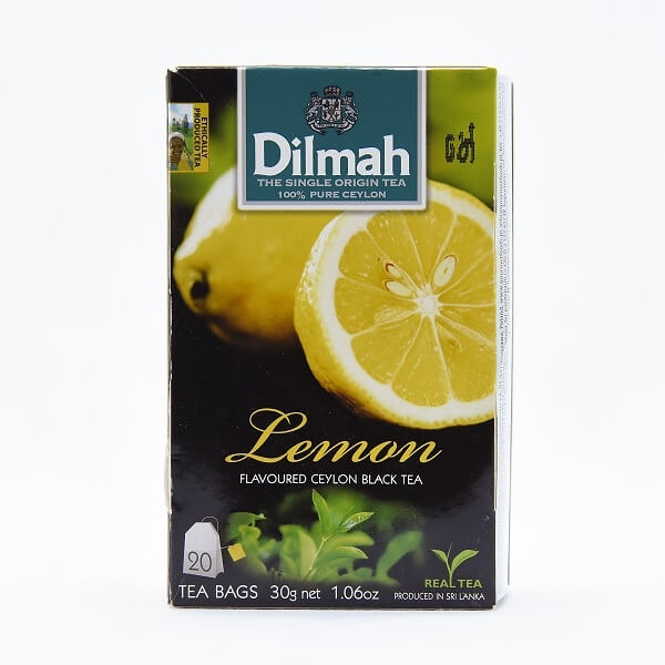 Dilmah Tea Flavored Bags Lemon 20s 30g - DILMAH - Tea - in Sri Lanka