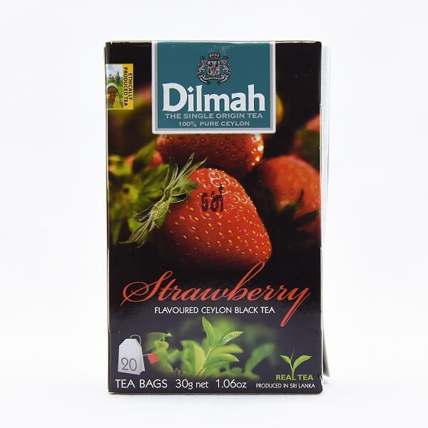 Dilmah Tea Flavored Bag Strawberry 20s 30g - DILMAH - Tea - in Sri Lanka