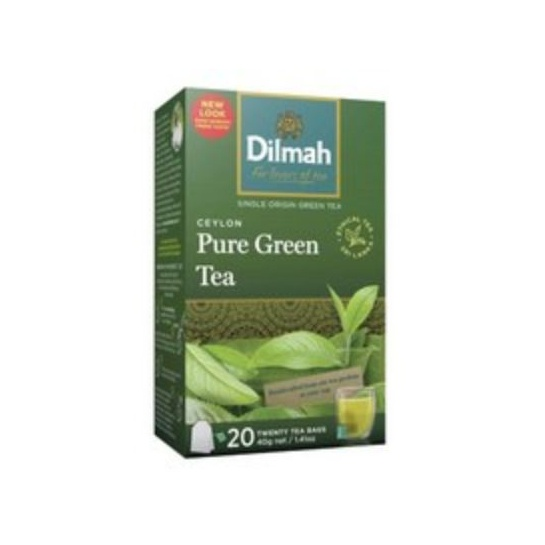 Dilmah Tea Green Pure Ceylon 20s 30g - in Sri Lanka