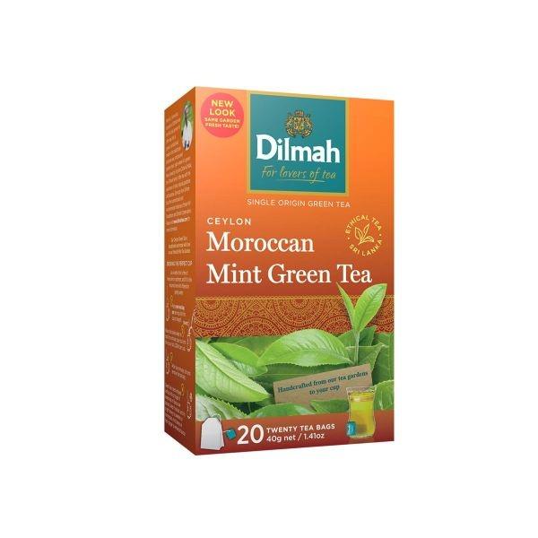 Dilmah Tea Green Bag Mor.mint 20s 40g - in Sri Lanka