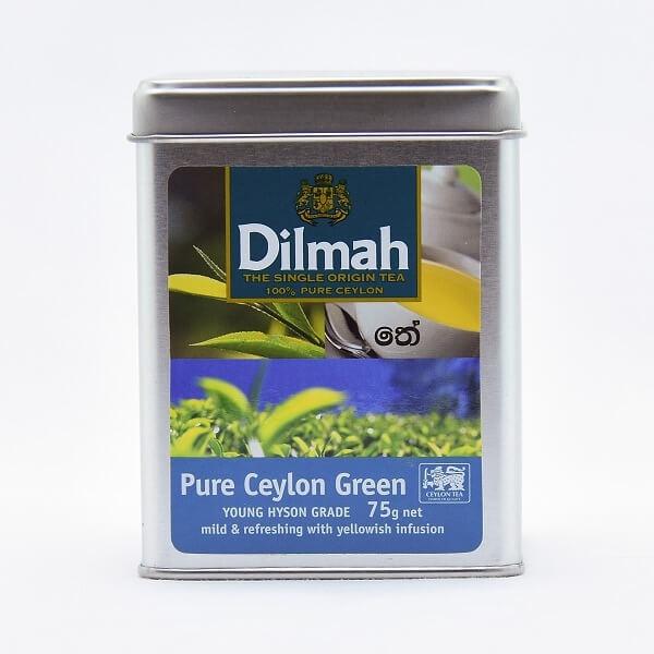 Dilmah Tea Pure Ceylon Green 75G - in Sri Lanka