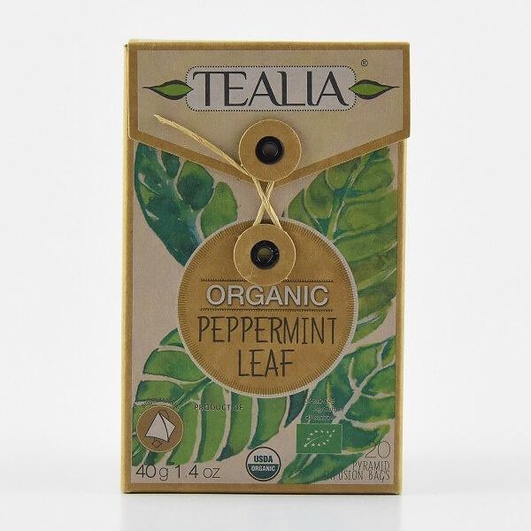 Tealia Tea Pyramid Bags Peppermint Organic 40g - in Sri Lanka