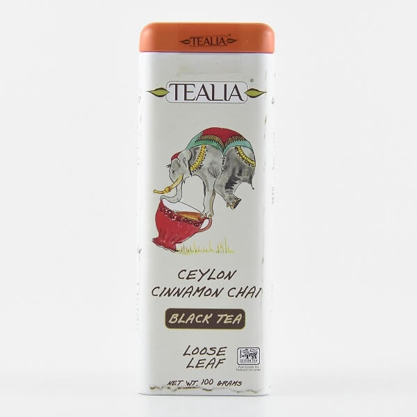 Tealia Tea In Tin Ceylon Cinnachai 100g - in Sri Lanka