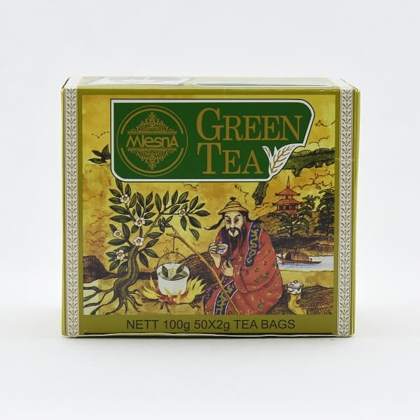 Mlesna Tea Green In Bag 100G - in Sri Lanka