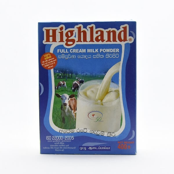 Highland Milk Powder 400G - in Sri Lanka