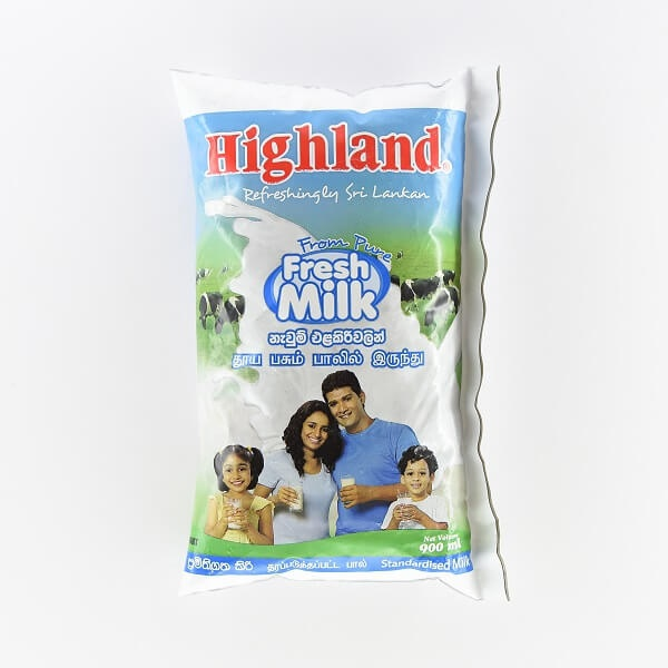 Highland Milk Full Cream U H T 900Ml - in Sri Lanka