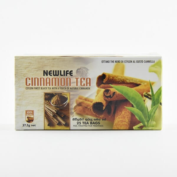 Newlife Tea Cinnamon 37.5G - in Sri Lanka