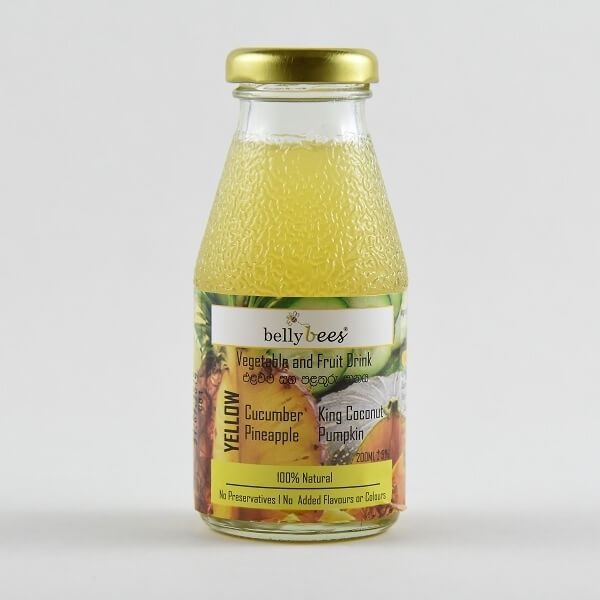 Bellybees Vegetable & Fruit Juice Yellow 200ml - in Sri Lanka