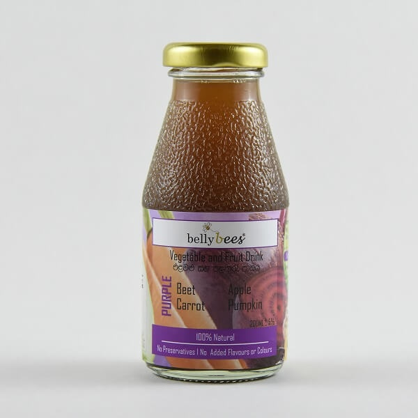 Bellybees Vegetable & Fruit Juice Purple 200ml - in Sri Lanka