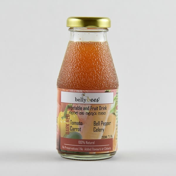 Bellybees Vegetable & Fruit Juice Dark Red 200ml - in Sri Lanka