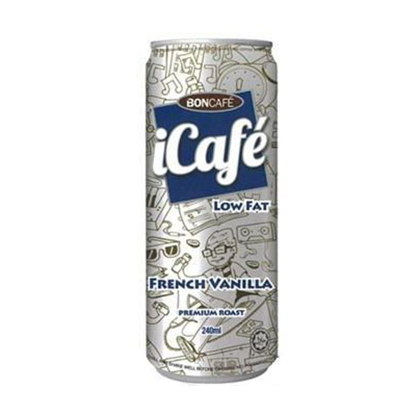 Boncafe Icafe Iced Coffee French Vanilla 240ml - in Sri Lanka
