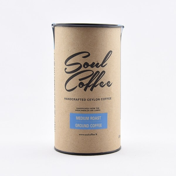 Soul Coffee Smooth Ceylon Coffee Medium Roasted 200g - in Sri Lanka