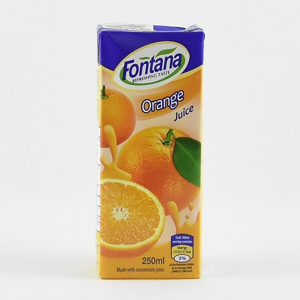 Fontana Orange Juice 250ml - in Sri Lanka