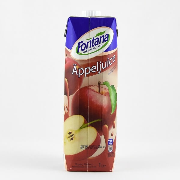 Fontana Apple Juice 100% Natural 1l - in Sri Lanka
