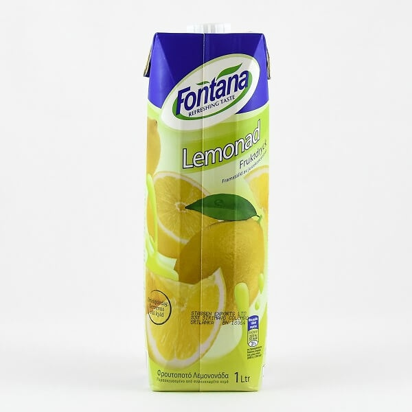 Fontana Lemonade Drink 1l - in Sri Lanka
