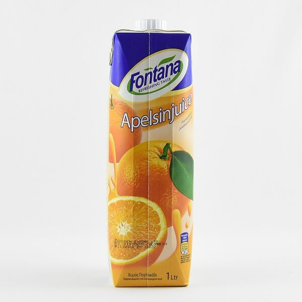 Fontana Orange Juice 100% Natural 1l - in Sri Lanka