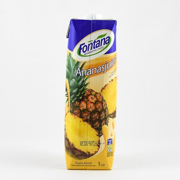 Fontana Pineapple Juice 100% Natural 1l - in Sri Lanka