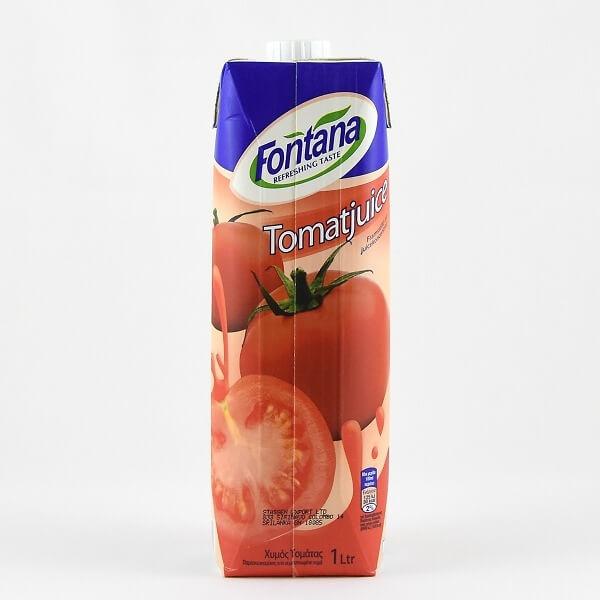 Fontana Tomato Juice 100% Natural 1l - in Sri Lanka