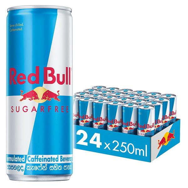 Red Bull Energy Drink Sugar Free 250ml - in Sri Lanka