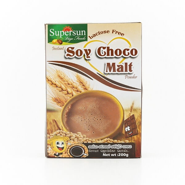 Supersun Malt Drink Choco 200G - in Sri Lanka